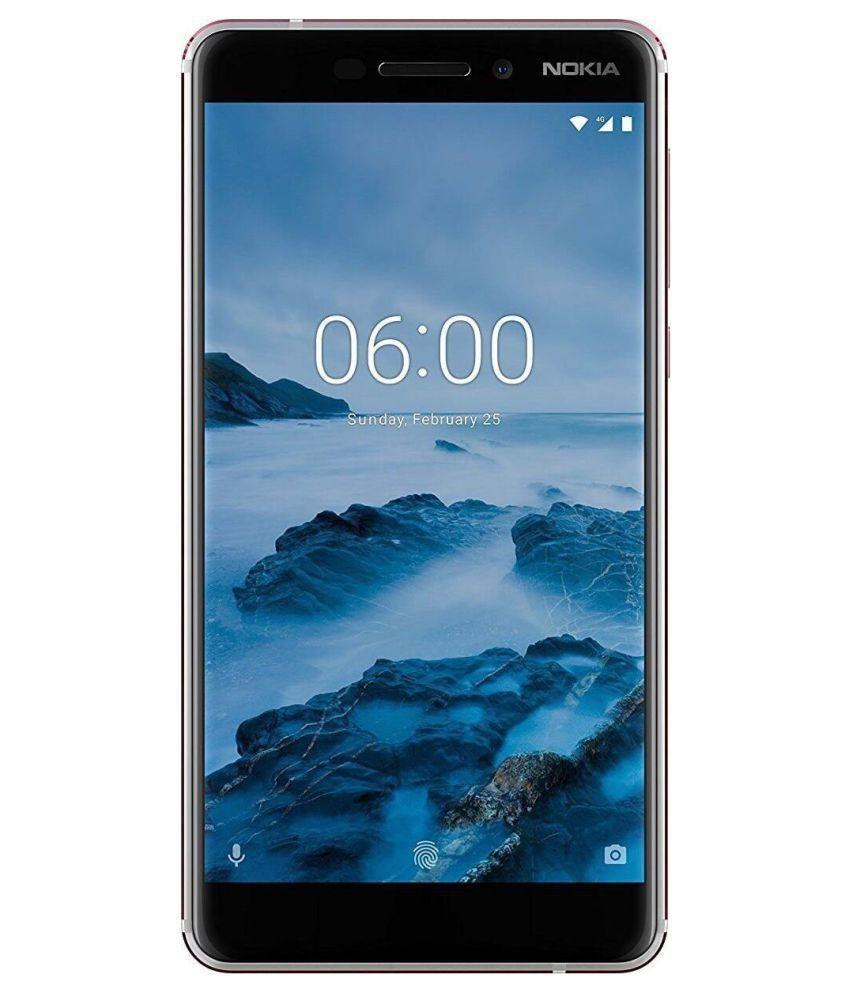 Nokia White Nokia 6.1 (2018) (White/Iron) 32 MB