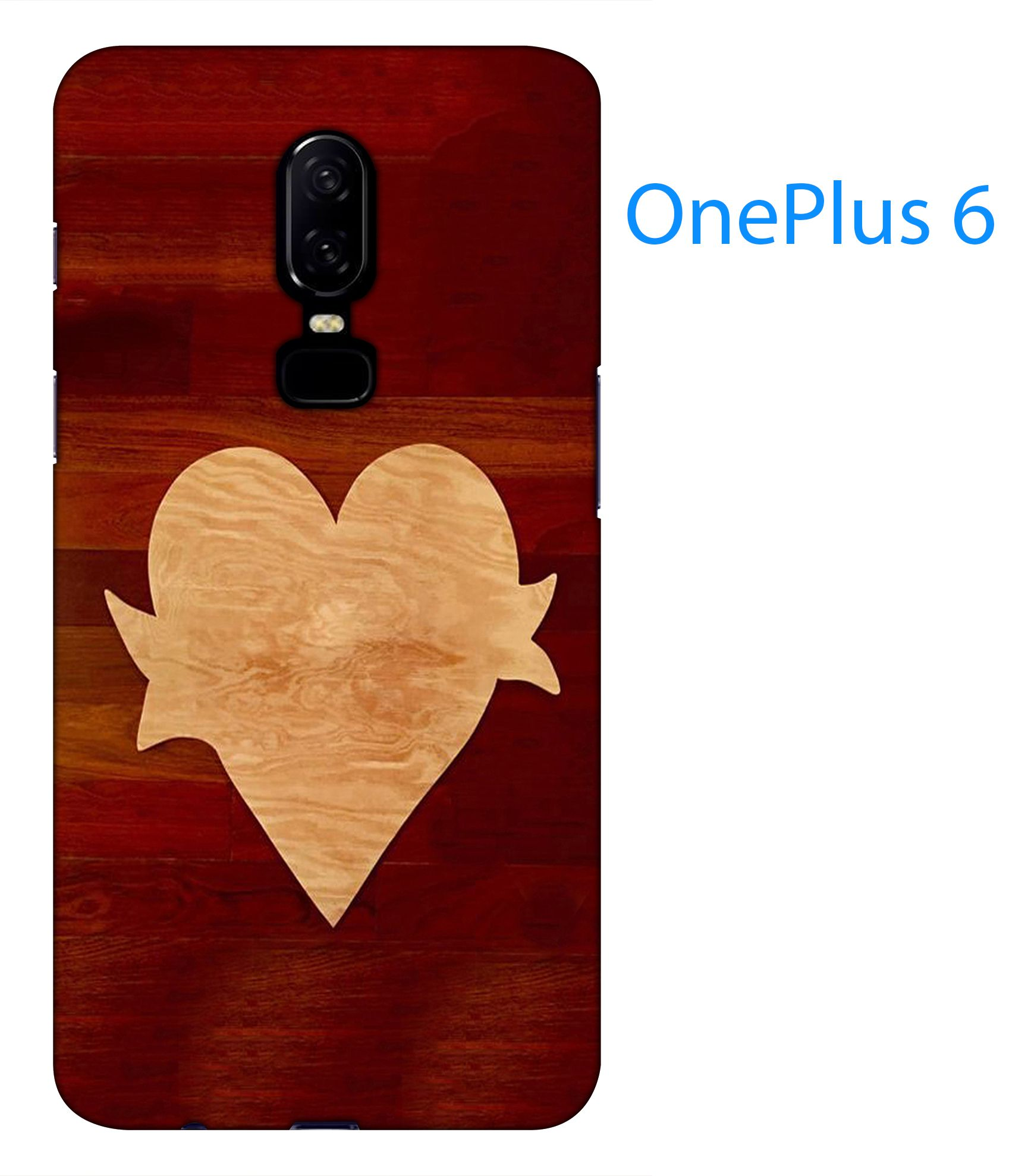 OnePlus 6 Printed Cover By Blutec