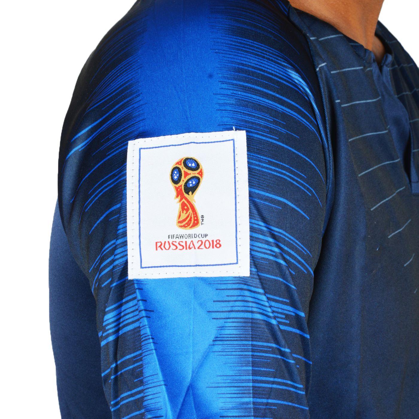 brand new f57fc 20b92 FIFA World Cup France National Team Dark Blue Jersey