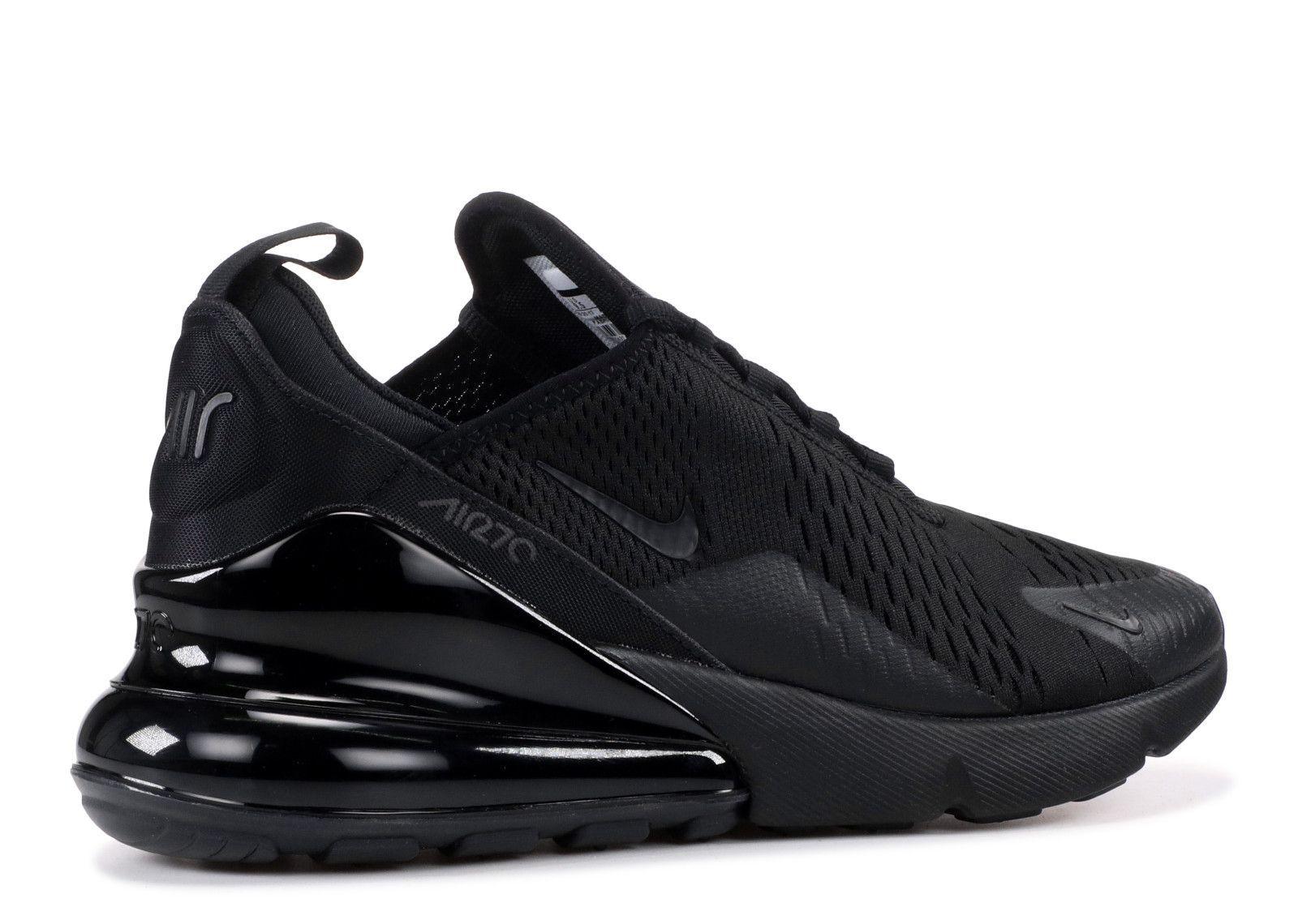 ... Nike AIR 27 C Black Running Shoes ...