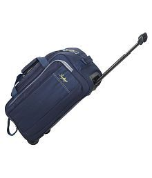 SKYBAGS Blue Solid Duffle Bag