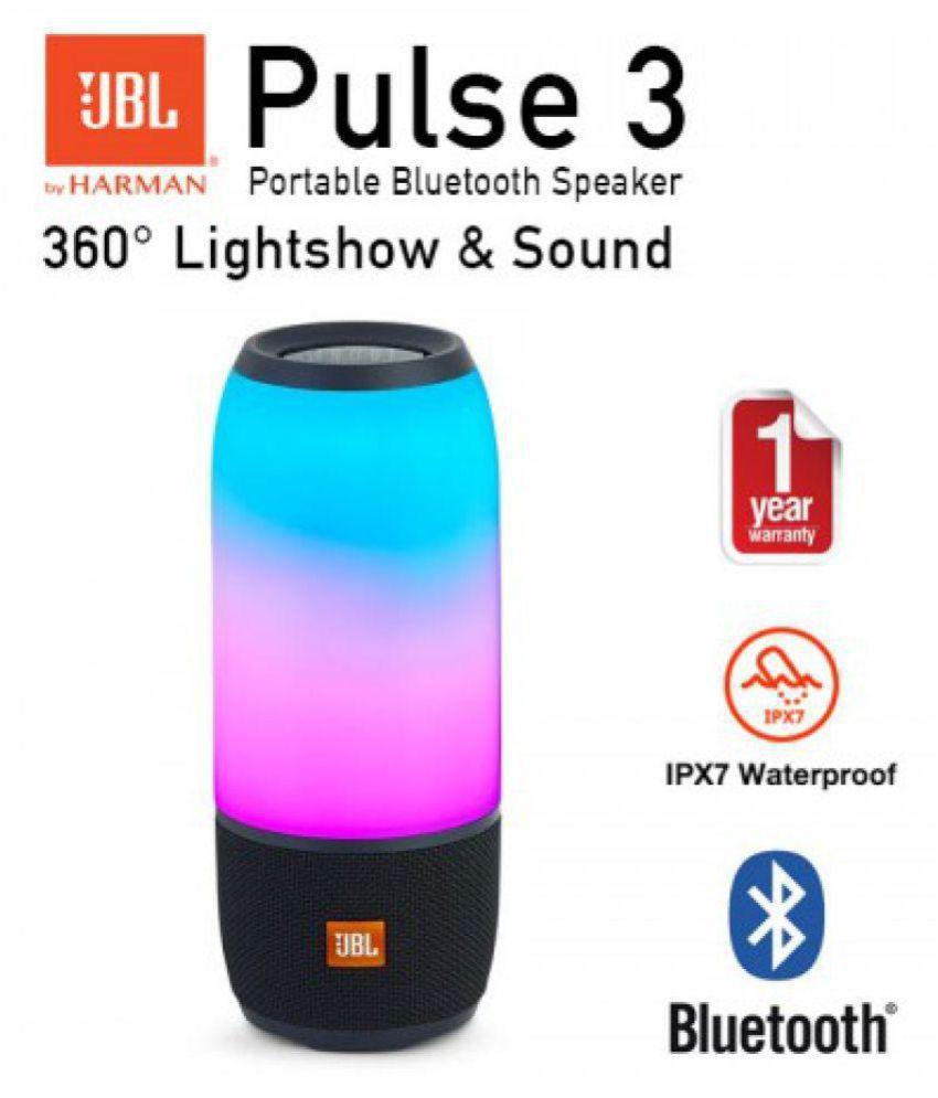 Jbl Pulse 3 Bluetooth Speaker Buy Jbl Pulse 3 Bluetooth Speaker Online At Best Prices In India On Snapdeal