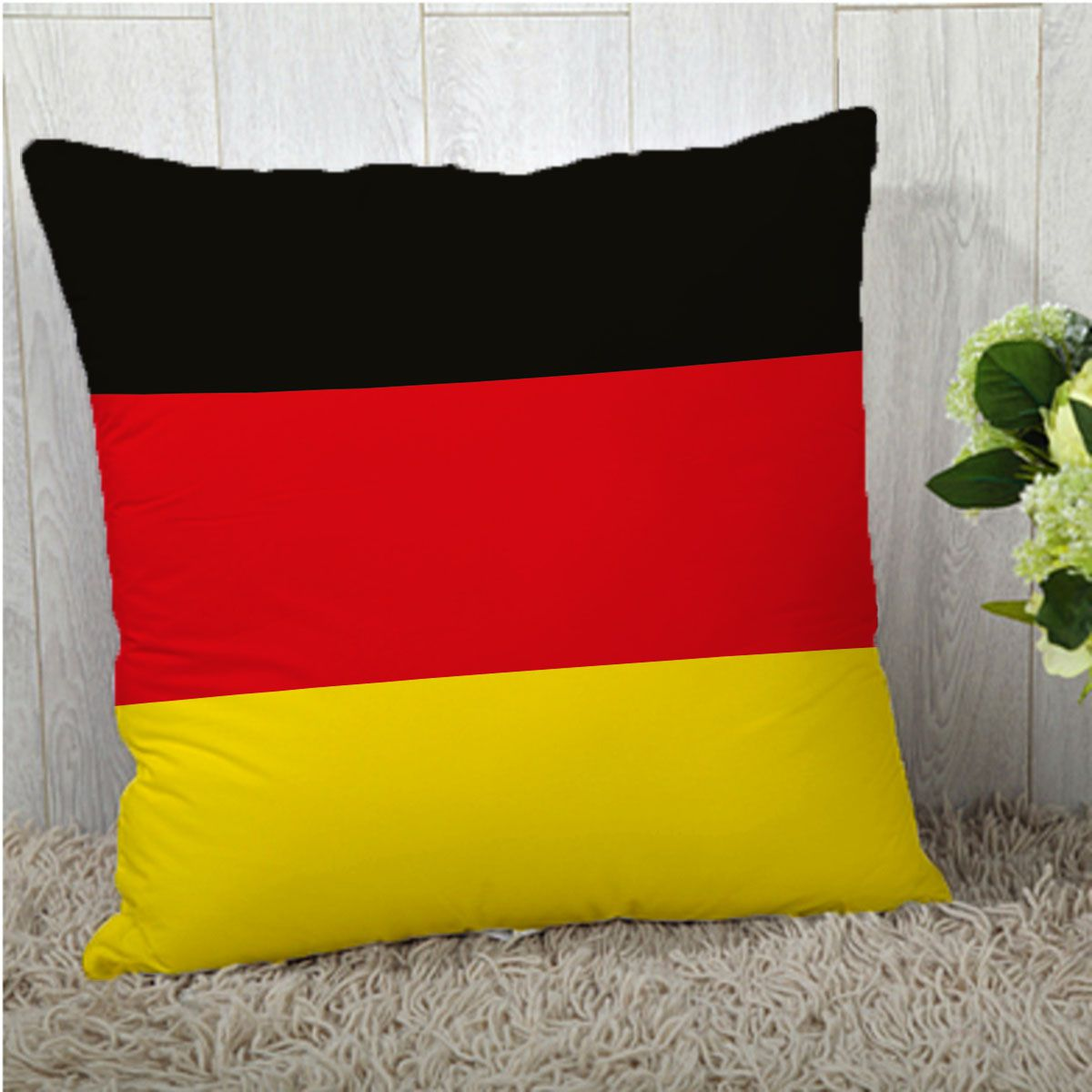 Stybuzz Single Polyester Cushion Covers 40X40 cm (16X16)