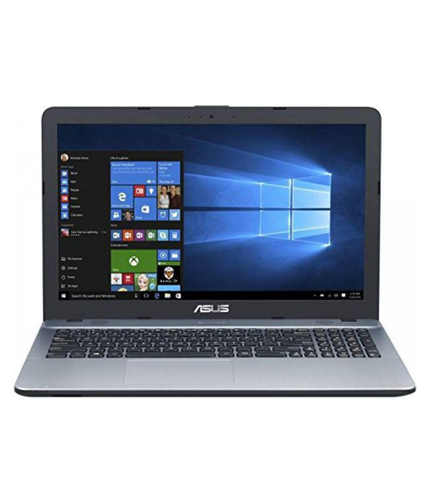 Asus Vivobook Max A541Uv-Dm978T Notebook Core i3 (7th Generation) 4 GB 39.62cm(15.6) Windows 10 Home without MS Office 2 GB Silver