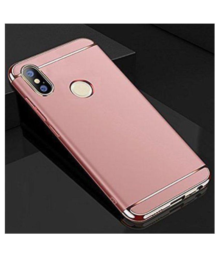 brand new a3eb3 c9ac5 Xiaomi Redmi Note 5 Pro Plain Cases KolorFish - Rose Gold