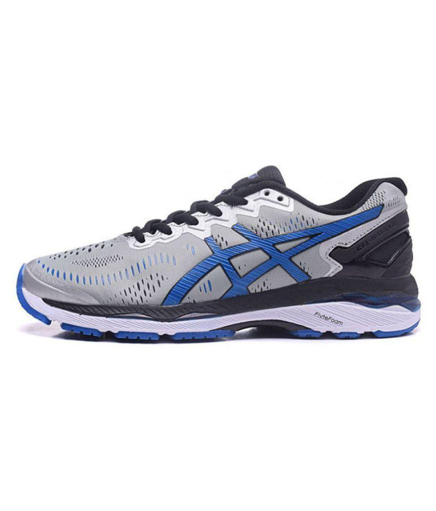 Asics GEL-KAYANO 23 Gray Running Shoes - Buy Asics GEL-KAYANO 23 Gray  Running Shoes Online at Best Prices in India on Snapdeal b01fe2a34407