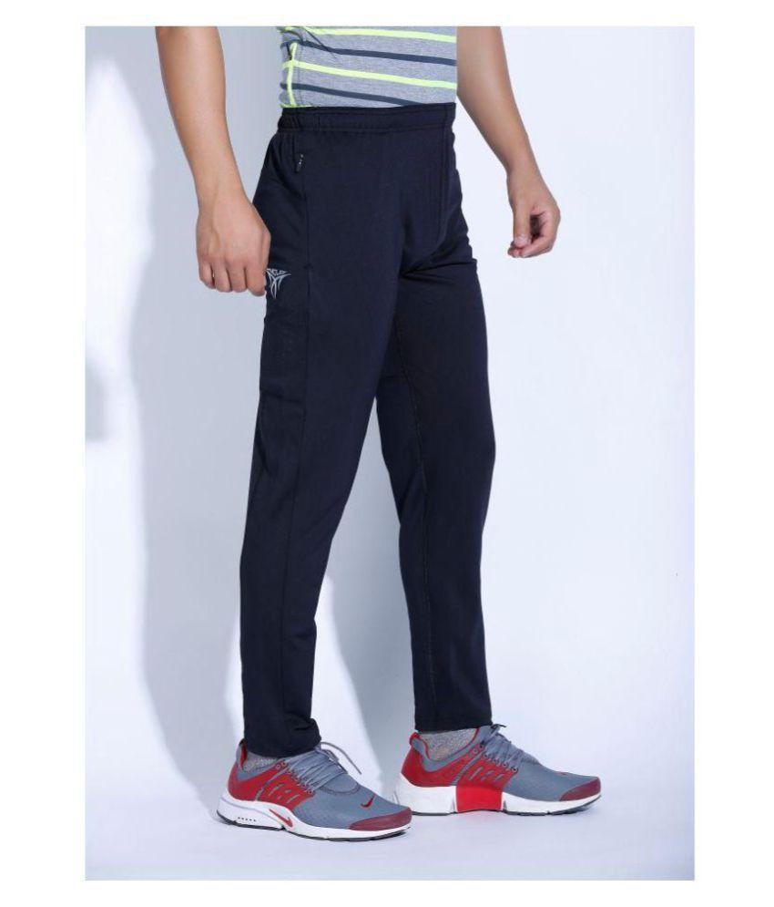Nike Air Jordan Black Polyester Lycra Track pants - Buy Nike Air ... 32a17a91b