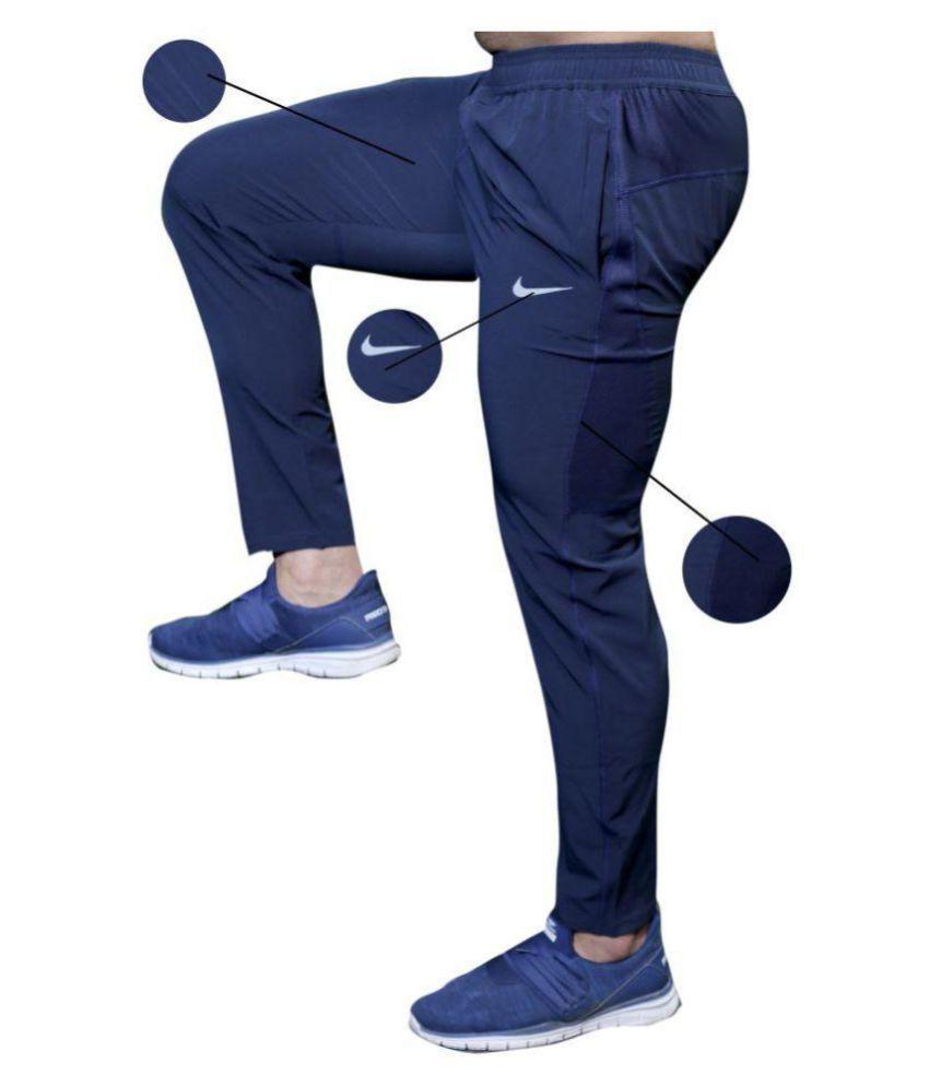 Nike Dry Phnm Blue Running Track Pants
