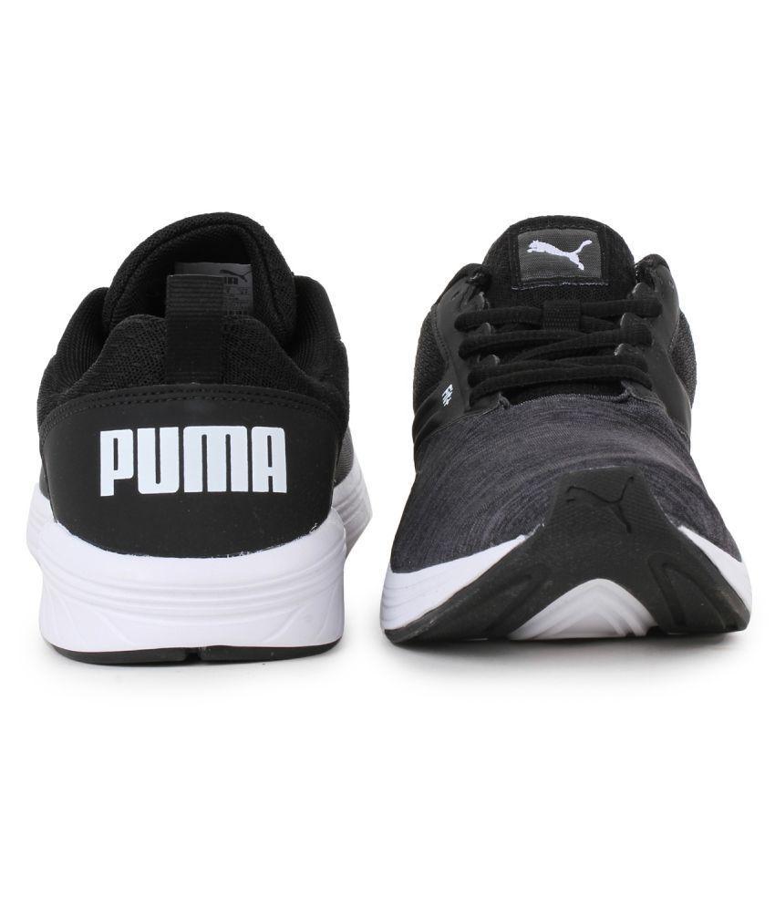 low priced f6e03 e6bd7 ... Puma Comet IPD Black Training Shoes ...