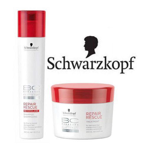 a0ccb73076 Schwarzkopf BC Repair Rescue & Repair Rescue Hair Treatment Masque +  Shampoo 450 ml Pack of 2: Buy Schwarzkopf BC Repair Rescue & Repair Rescue  Hair ...