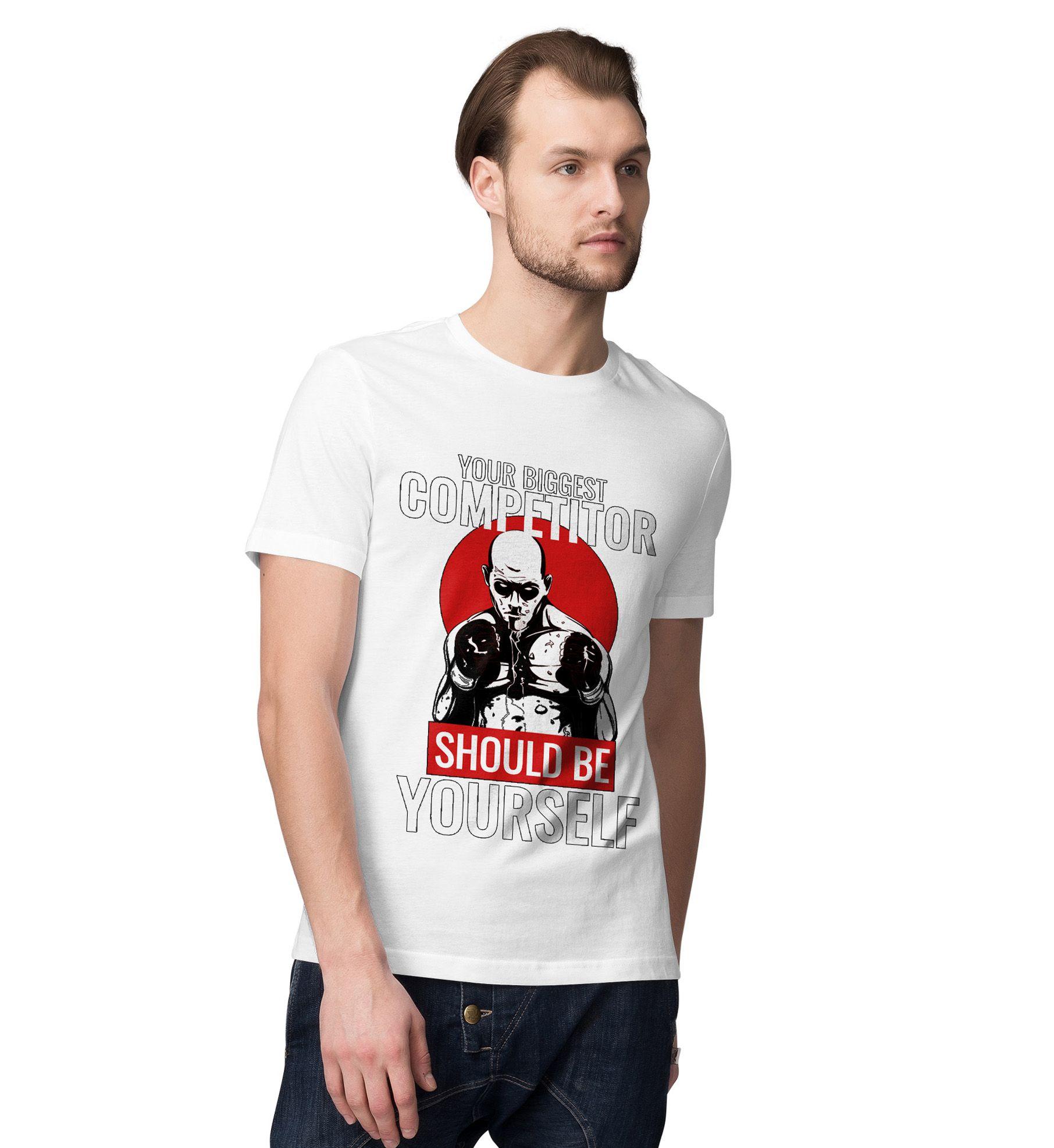 Desi Bonkers White Round T-Shirt