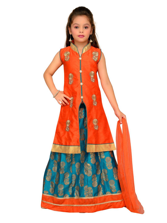 06af5be415 Aarika Jacket Lehenga Choli & Dupatta Set - Buy Aarika Jacket Lehenga Choli  & Dupatta Set Online at Low Price - Snapdeal