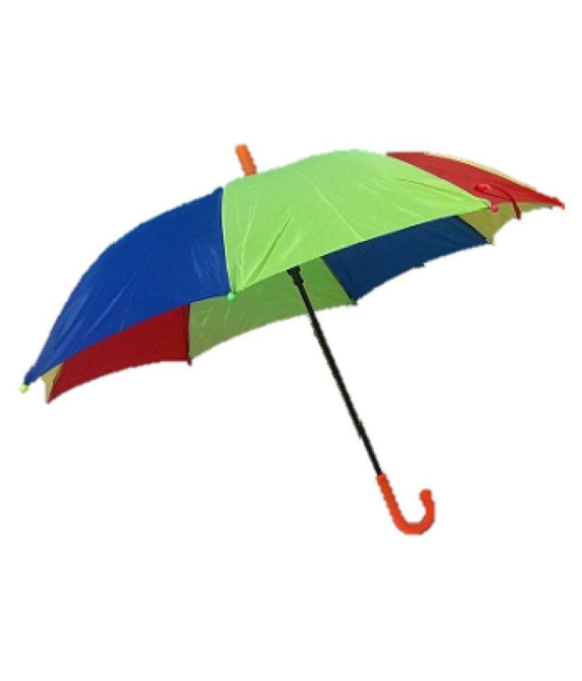 RiSh Kid Umbrella Rainbow Color Combo of 2 ( Medium & Small): Buy ...