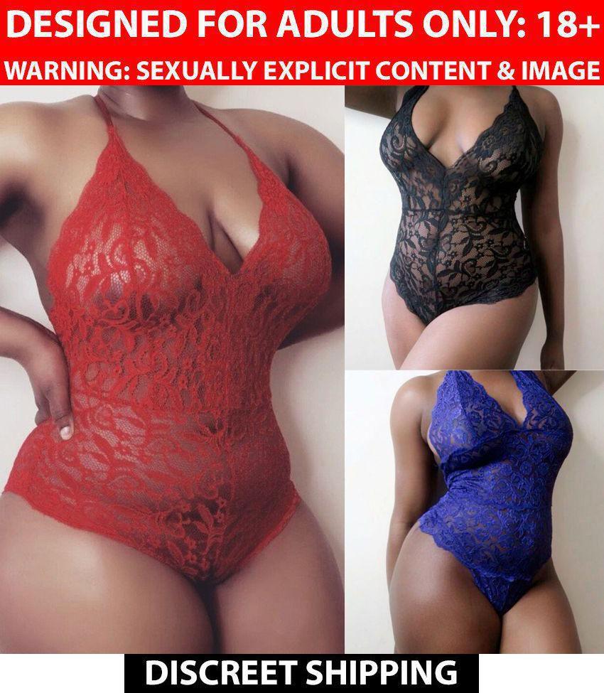 Lingerie Lace Dress Babydoll Women Underwear Nightwear Sleepwear LI