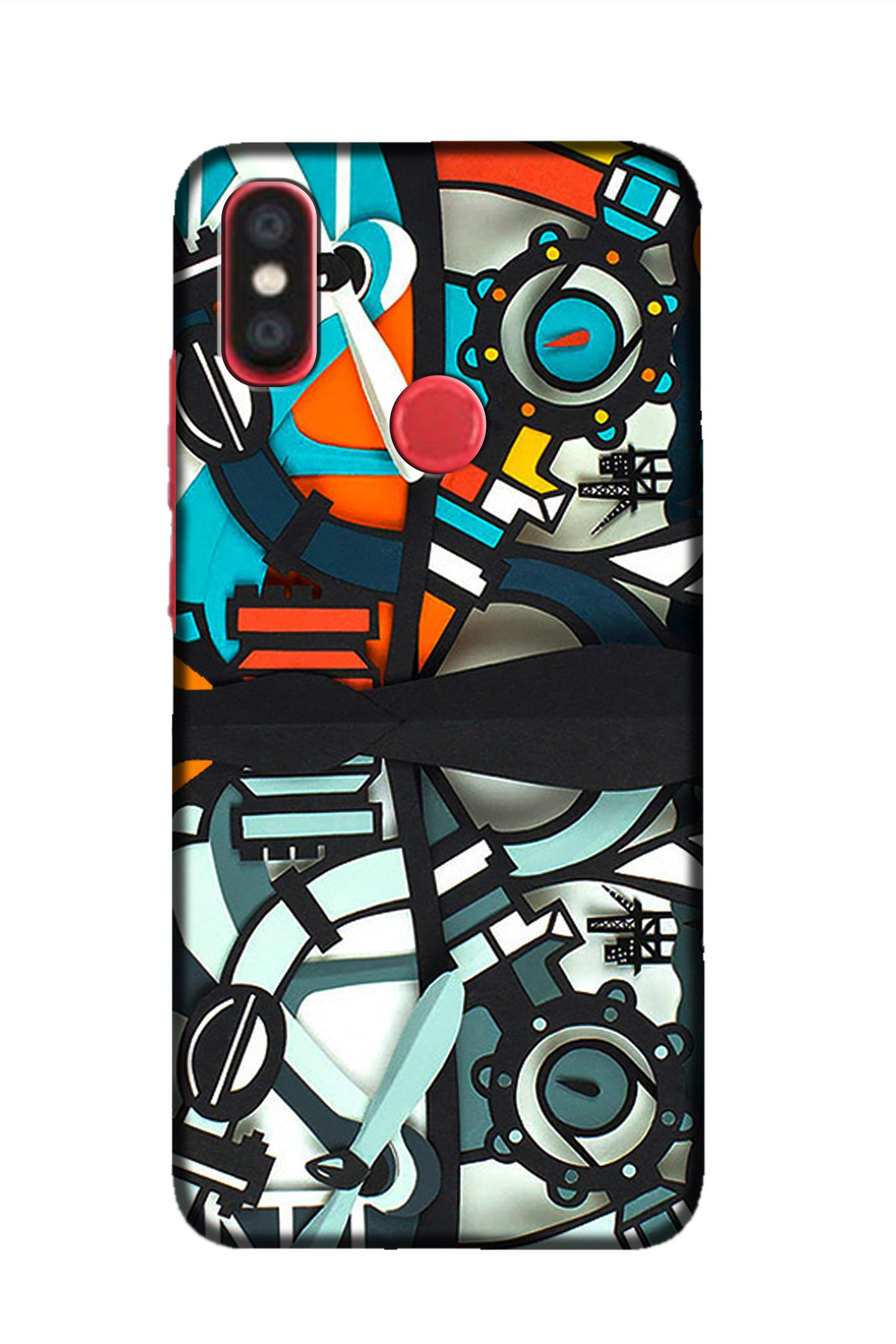 cheap for discount 248e0 53c1d Xiaomi Mi A2 Printed Cover By Aman - Printed Back Covers Online at ...