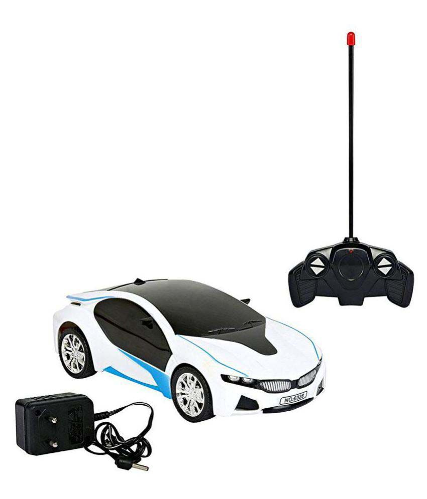 Crazy Toy Bmw I8 Electric Chargeable 3d Remote Control Lightning