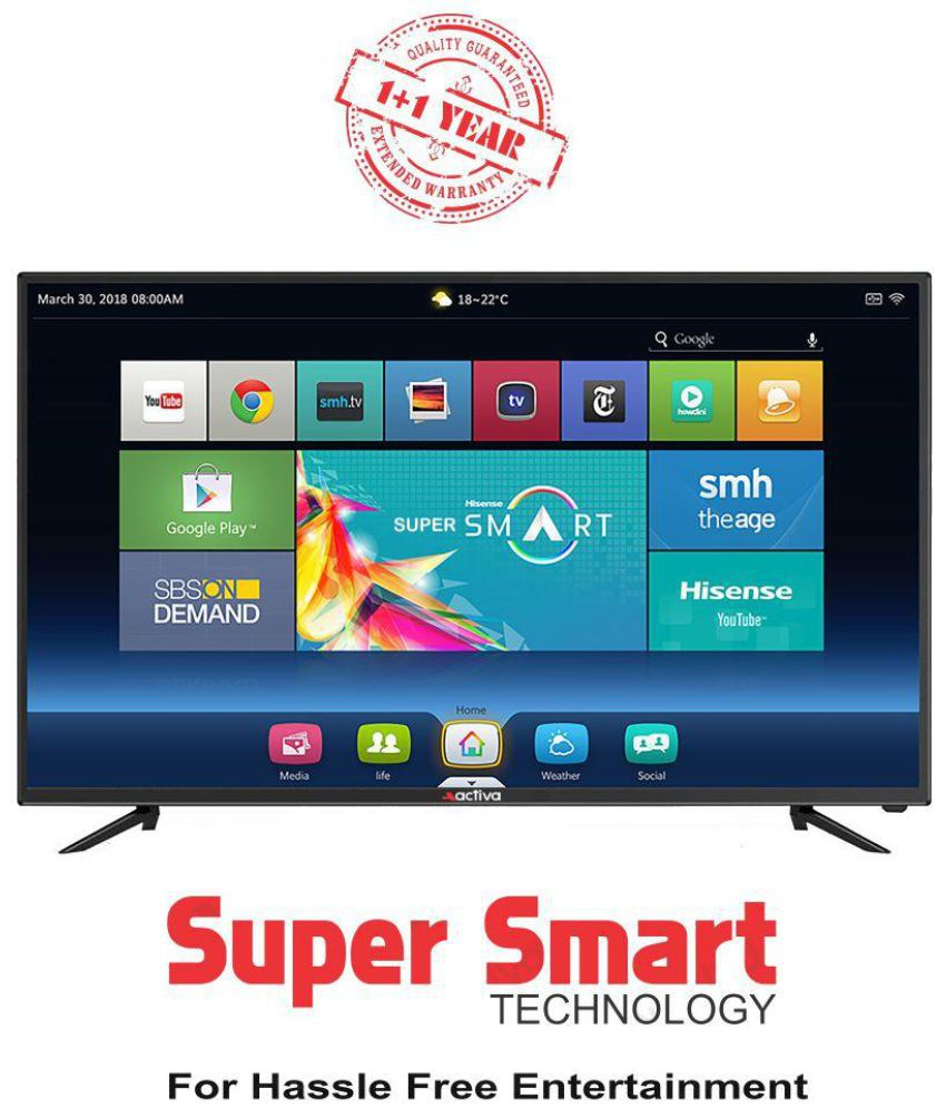 buy activa act 32 smart 80 cm 32 smart full hd fhd led rh snapdeal com