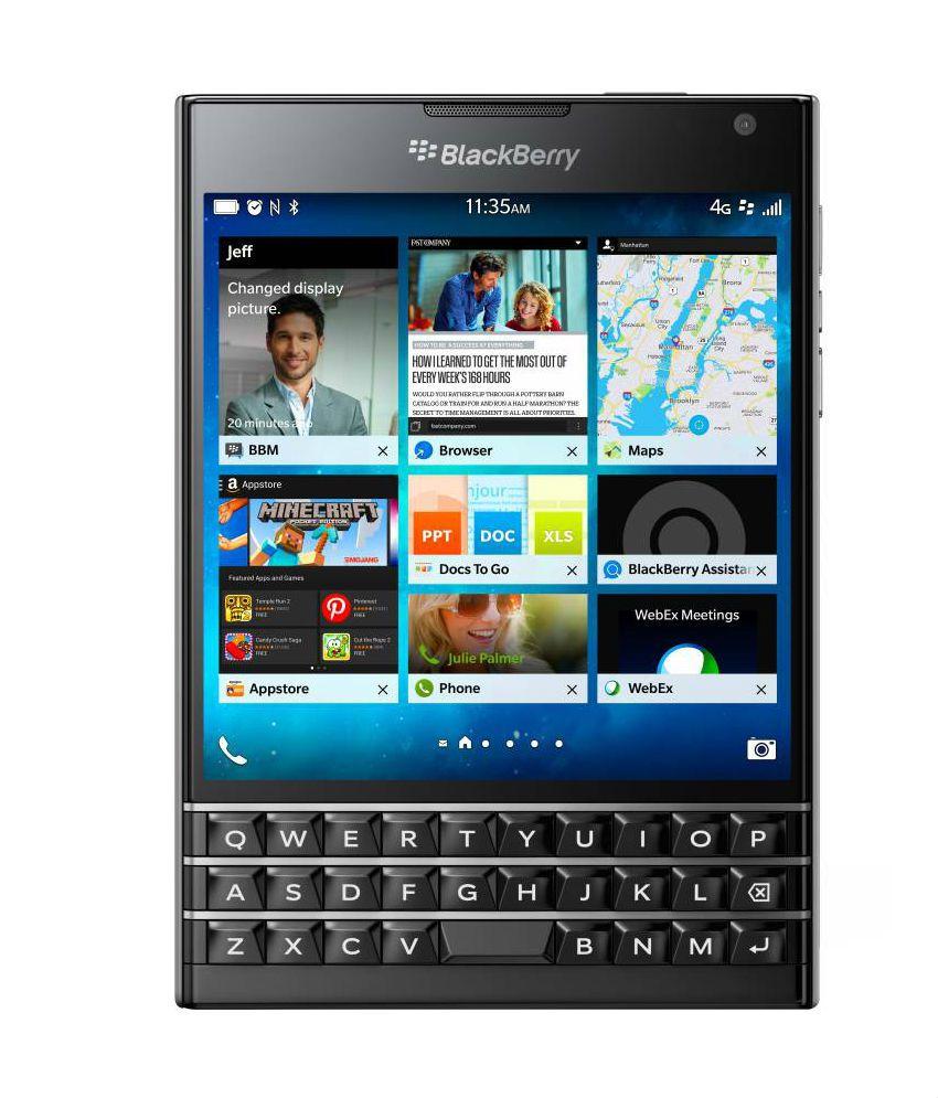 Blackberry ( 32GB , 3 GB ) Black