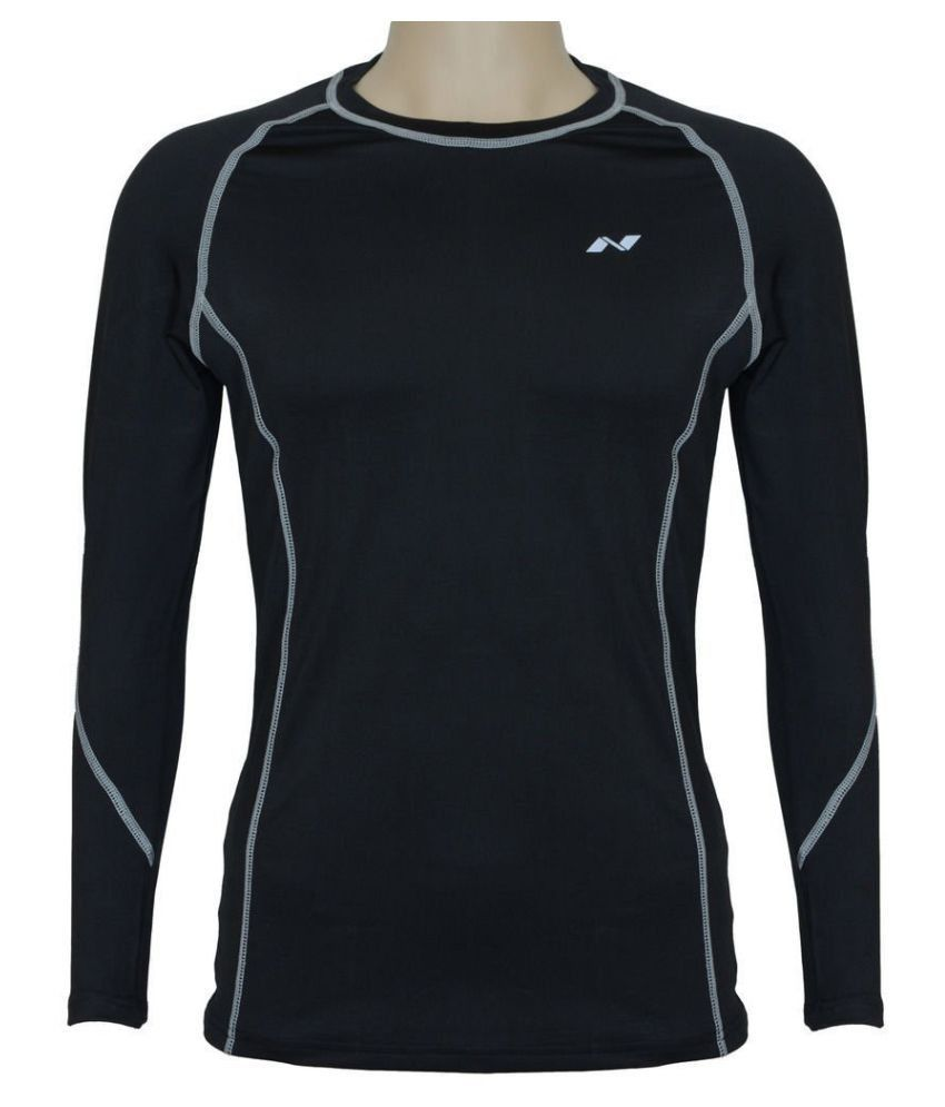 Nivia Black Polyester Jersey-1861xl1