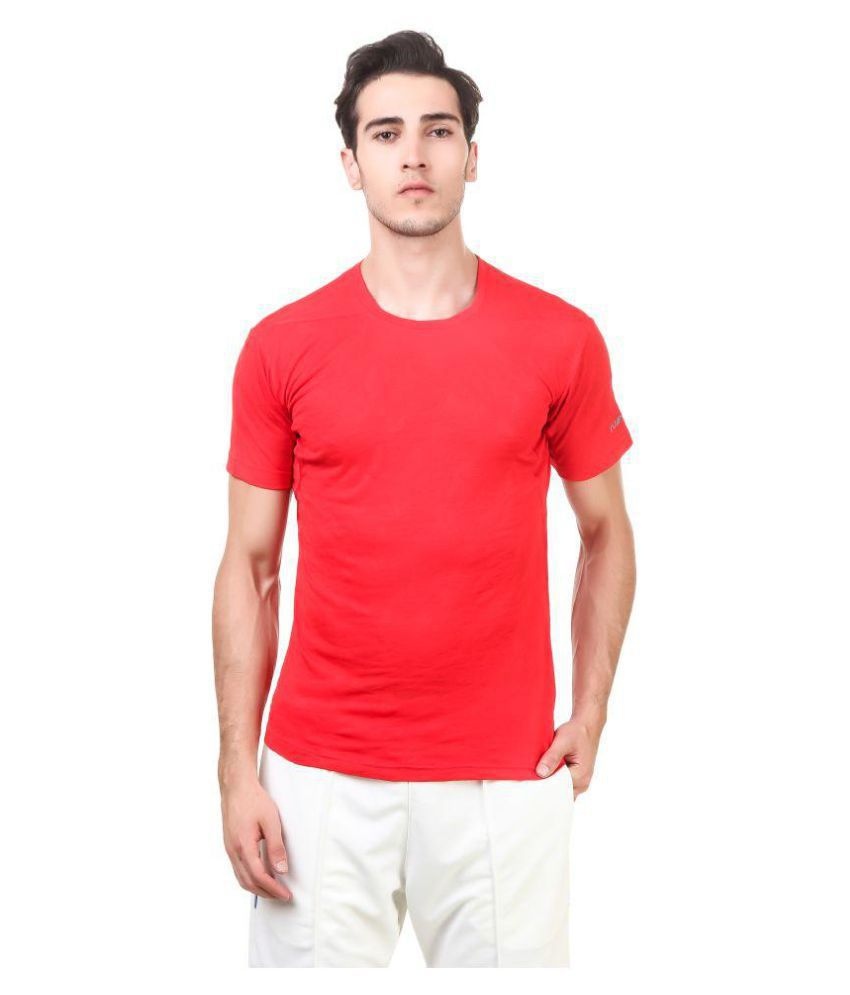 Nivia Red Polyester Jersey-2234M-4