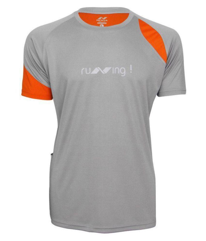 Nivia Running Fitness T-Shirt-n1859m2