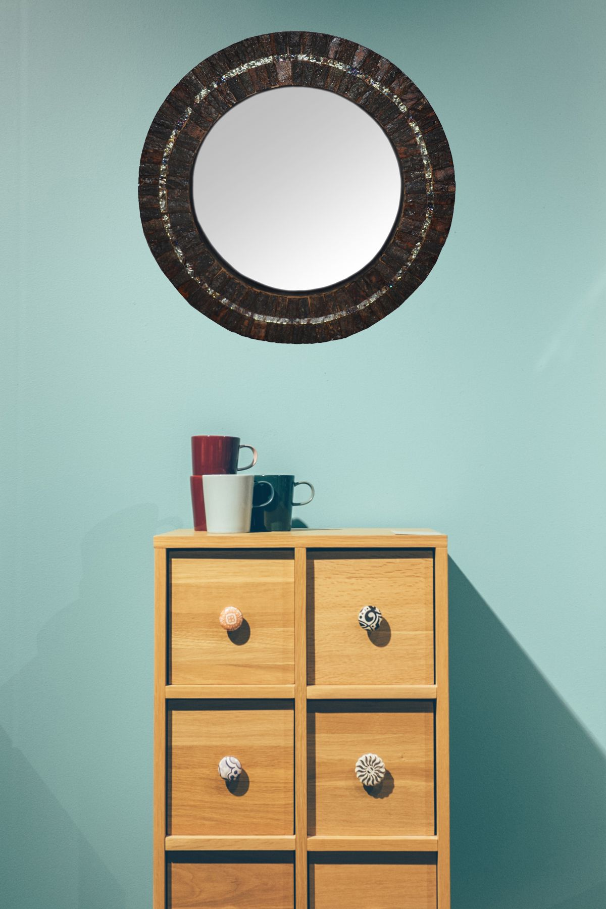 Cosmo Décor Mirror Wall Mirror ( 46 x 4 cms ) - Pack of 1