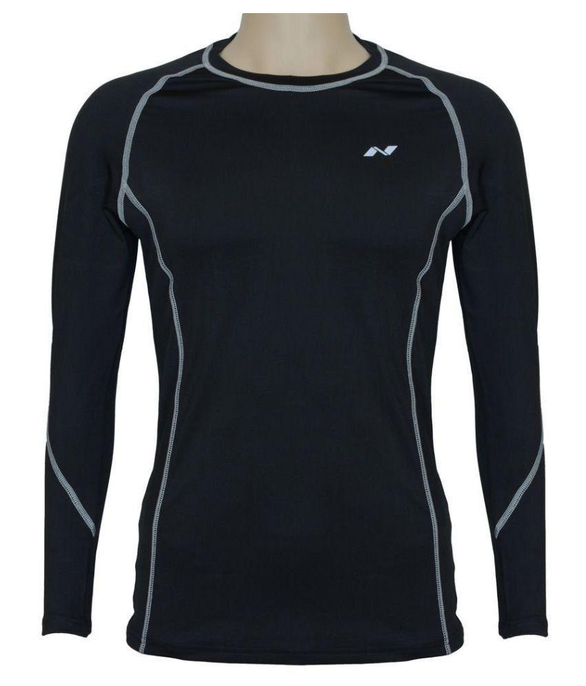 Nivia Black Polyester Jersey-1861l1