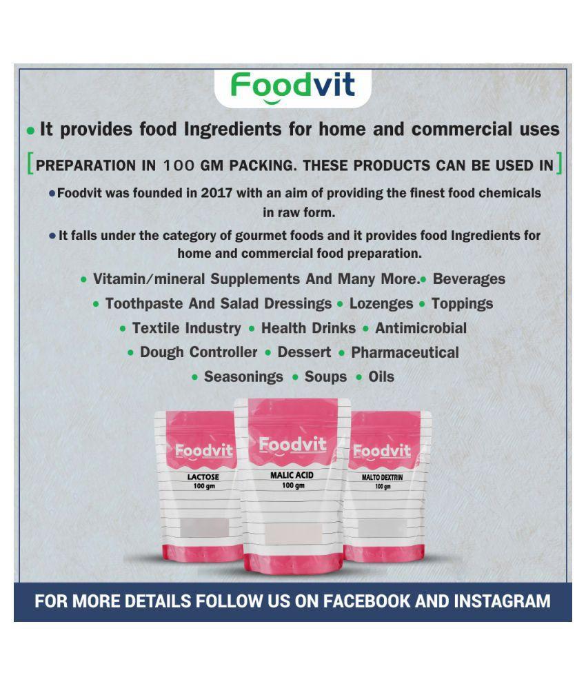 Foodvit Xanthan Gum Powder 100 gm