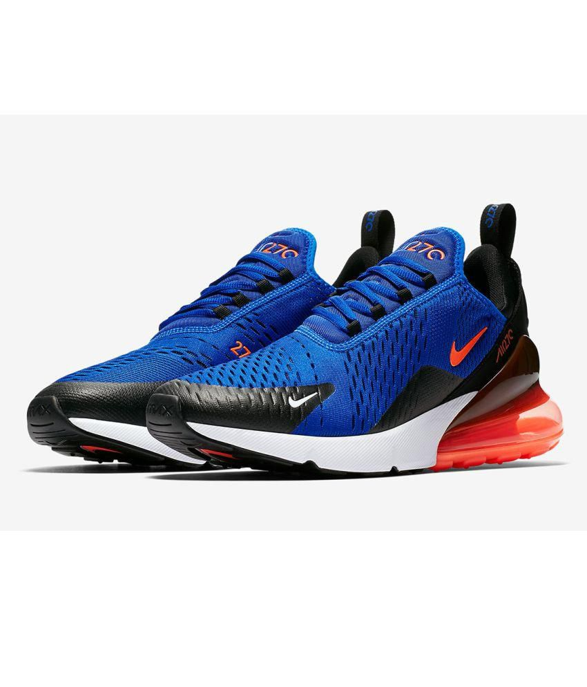 155dcd55c4faa Nike Air Max 270 Blue Running Shoes - Buy Nike Air Max 270 Blue ...