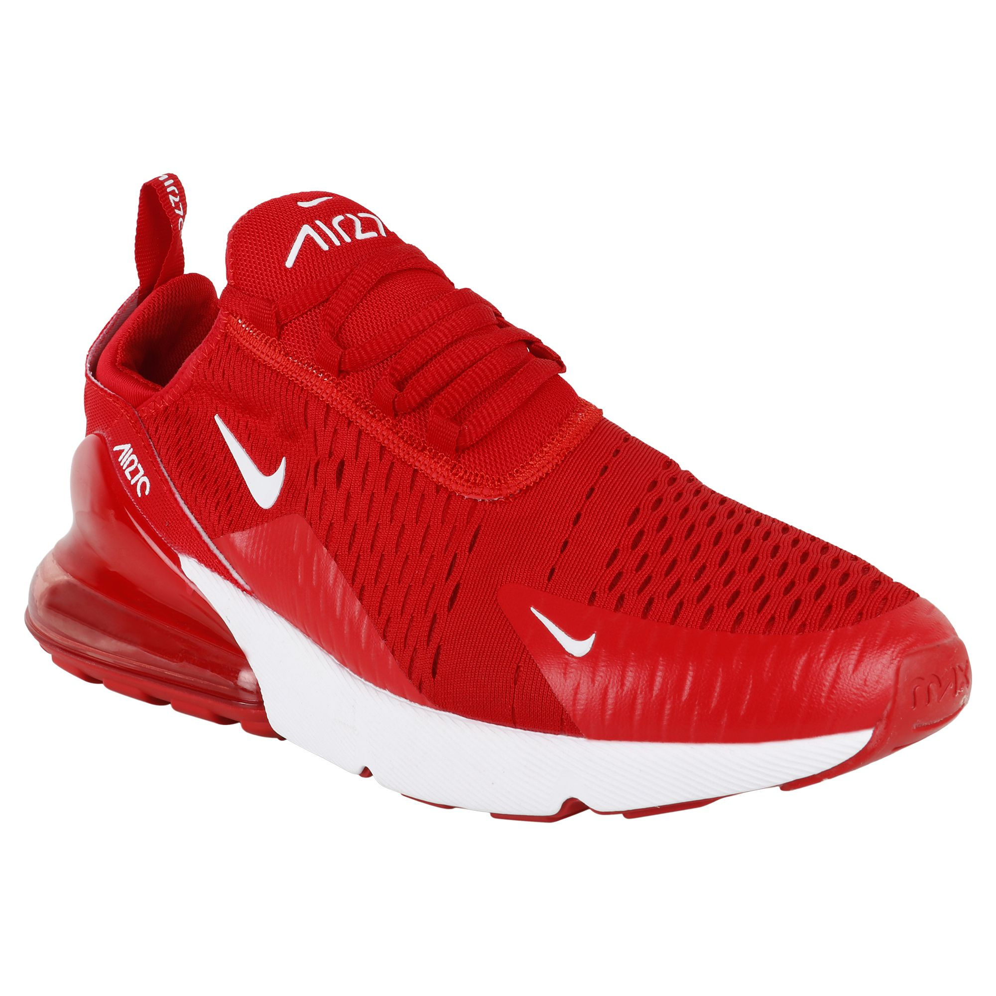 new style 19ff9 fe0e8 Nike Air Max 270 Red Running Shoes