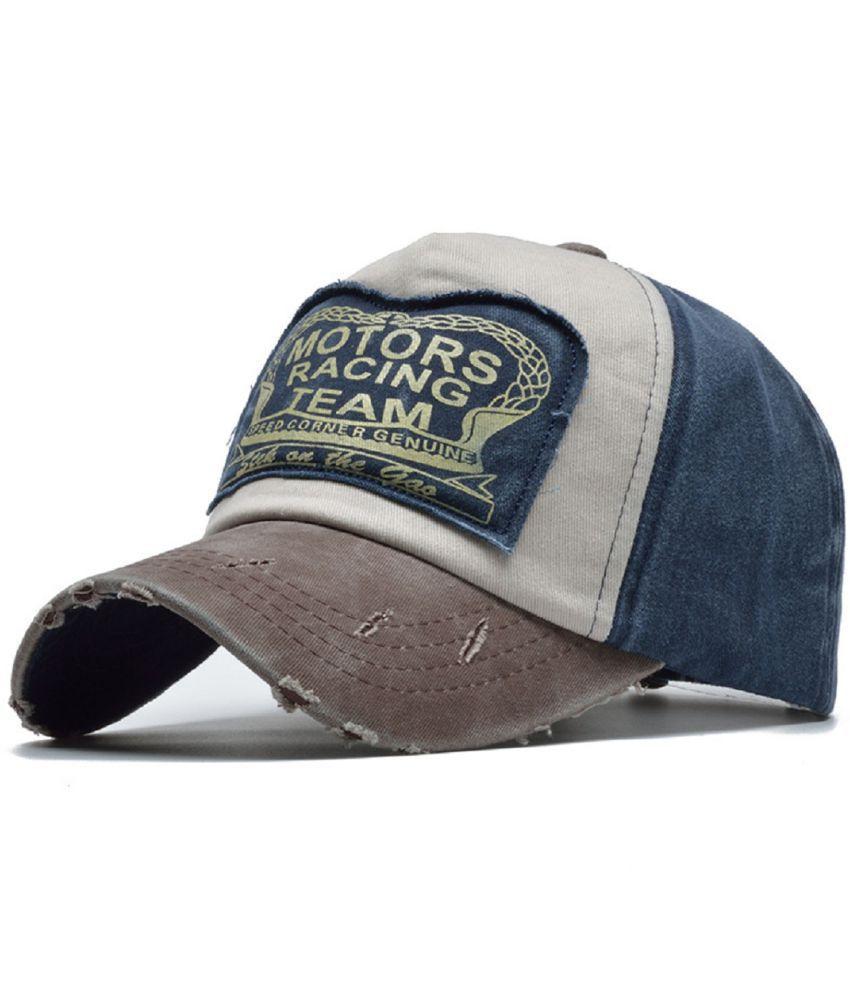 7e77b471b55 HANDCUFFS Summer Cotton Cap Motors Racing Team Baseball Cap Snapback Hat  Hip Hop Fitted Cap Hat For Men Women Cap  Buy Online at Low Price in India  - ...