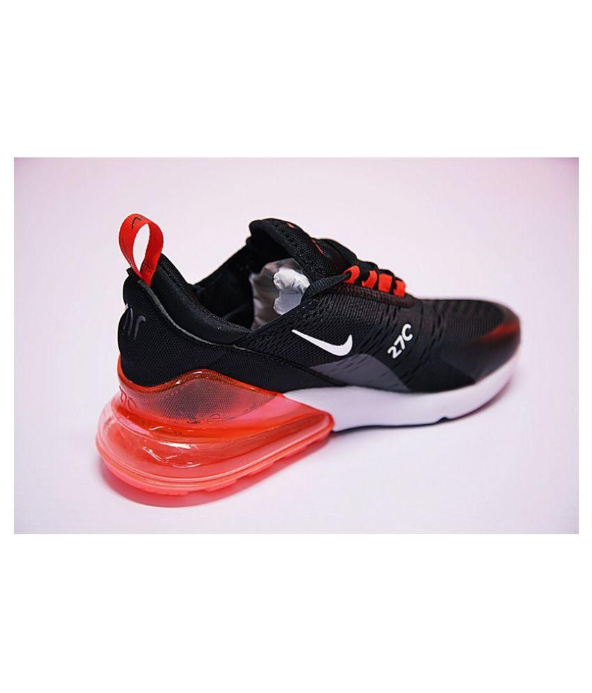 156f97b5362 Nike Air Max 270 Black Running Shoes - Buy Nike Air Max 270 Black ...