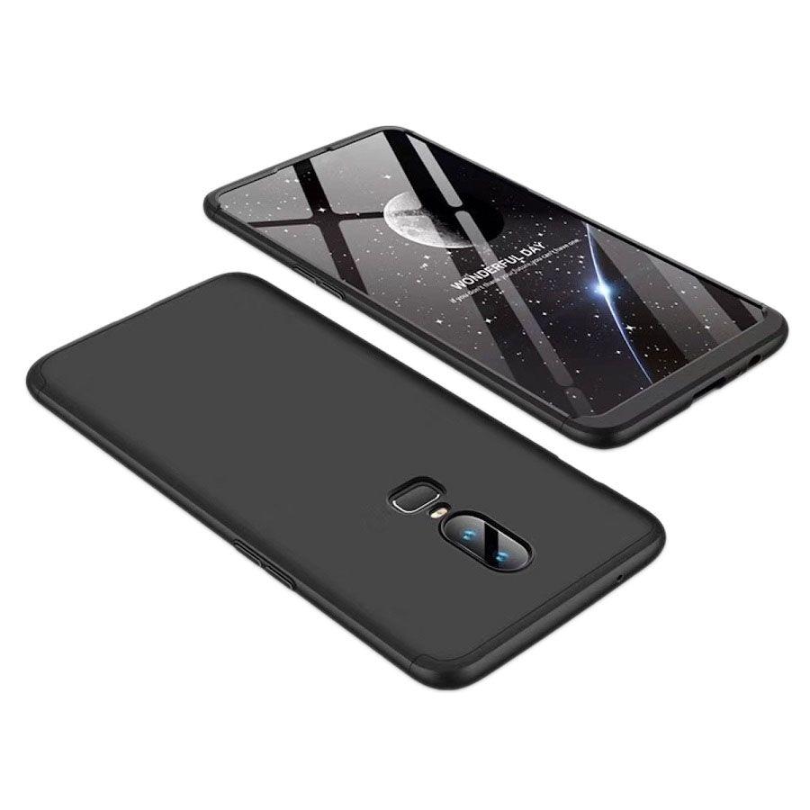 best authentic 4183a 18c54 OnePlus 6 Shock Proof Case JMA - Black Original Gkk 360° Protection Slim  Case