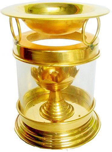 Wacky Brass Akhand Diya - Pack of 1
