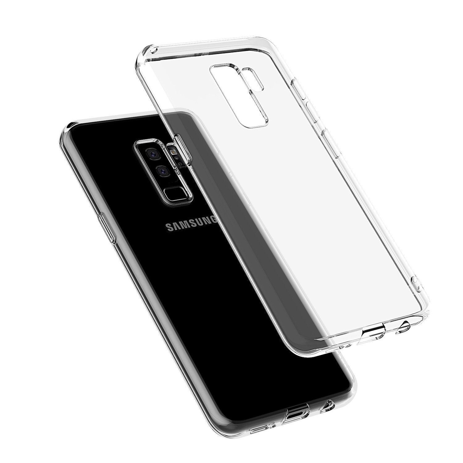 Samsung Galaxy J8 2018 Soft Silicon Cases SpectraDeal Transparent