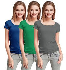 2bc8d70b02f Women's Tees & Polos: Buy T-shirts for Women Online at Best Prices ...