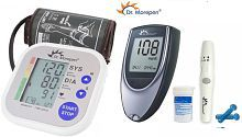 Dr Morepen BP One BP-02 Dr Morepen BP02 and BG03 Dr Morepen BP02 and Glucometer BG03 with 25 strips