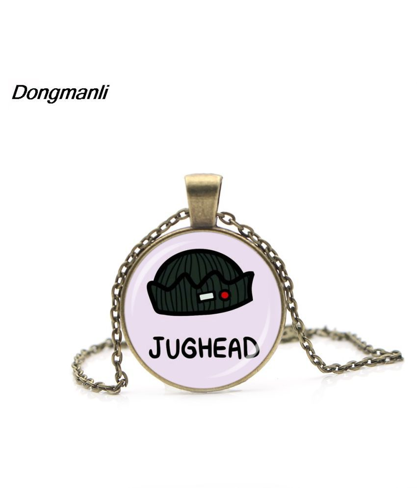 2018 New Arrival Riverdale Pendant Necklace Mysteries Of Riverdale Jewelry Glass Dome Pendants  Metal Necklaces