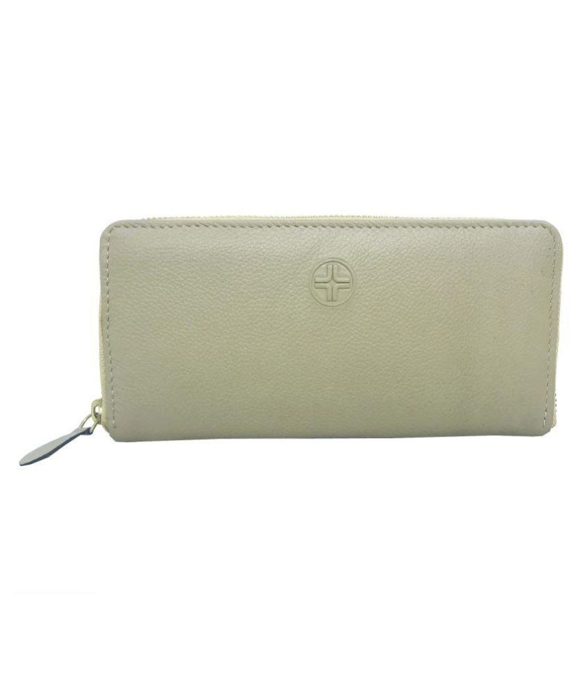 JL Collections Beige Wallet