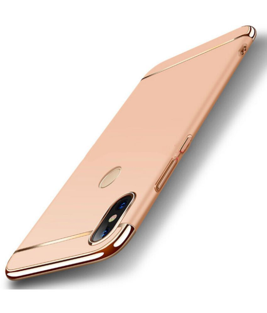 brand new 74a28 65a46 Xiaomi Redmi Note 5 Pro Charging Case Ipaky - Golden