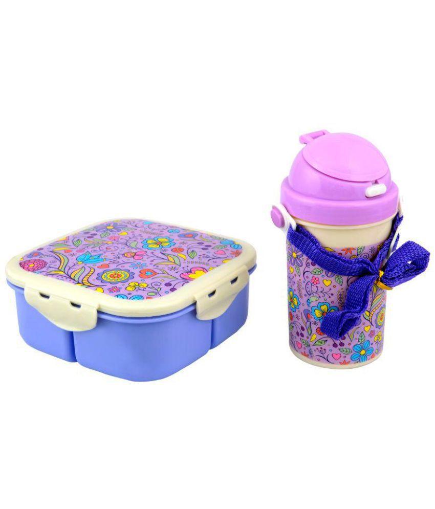 banesco Purple Polypropylene (PP) Lunch Box