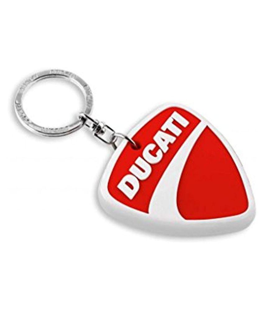 Soft Rubber Keychain Key Ring for Ducati Diavel Hypermotard Monster Multistrada Scrambler 1199 Panigale Streetfighter etc.