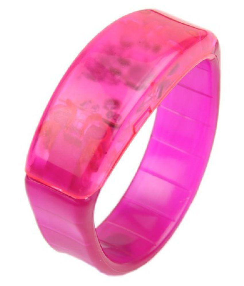 Voice Control LED Light Glows Wristbands Bracelet Party Rave Bangle LUN