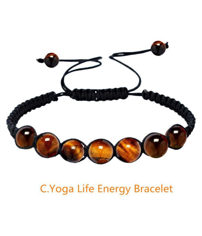 new arrival 7 Chakra Healing Beaded Bracelet Natural Lava Stone Diffuser Bracelet Jewelry