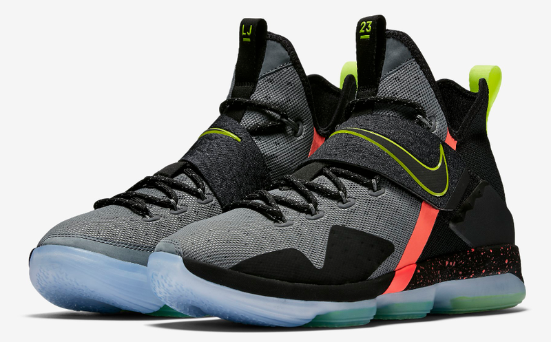 14c41db2a2e59 Nike leBron 14 Multi Color Basketball Shoes - Buy Nike leBron 14 ...
