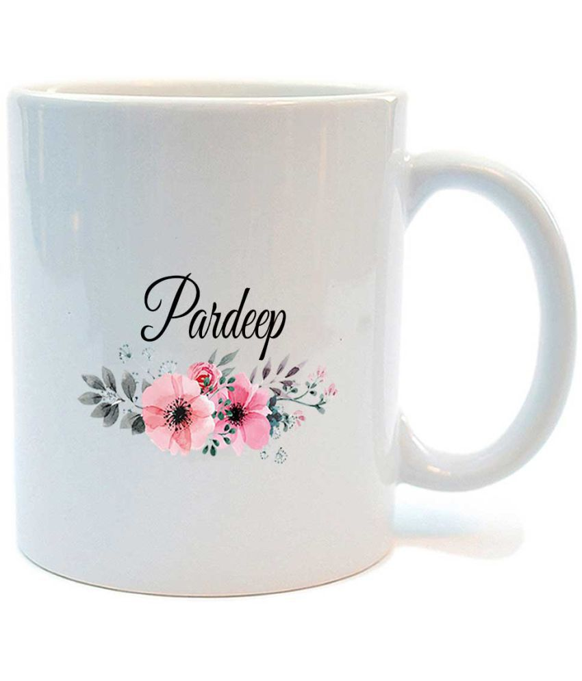 Juvixbuy Ceramic Coffee Mug 1 Pcs 325 ml