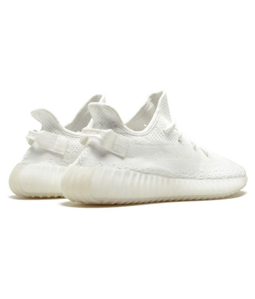 new concept 061d2 d41ab Adidas Yeezy Boost 350 V2 Milky White Running Shoes