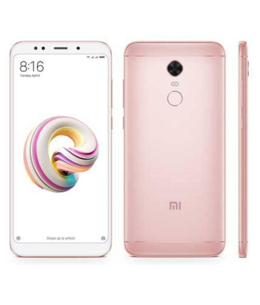 Redmi Note 5 Pro  64  GB, 4  GB RAM    with 20MP Front Camera
