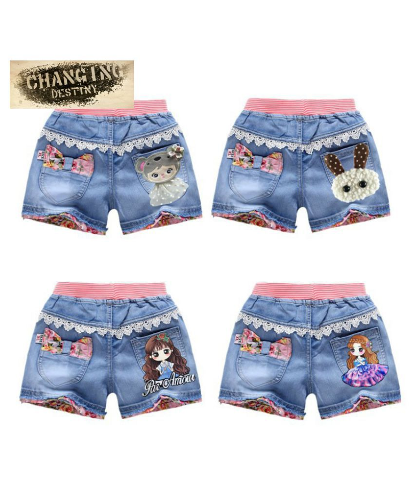 Changing Destiny Girl shorts