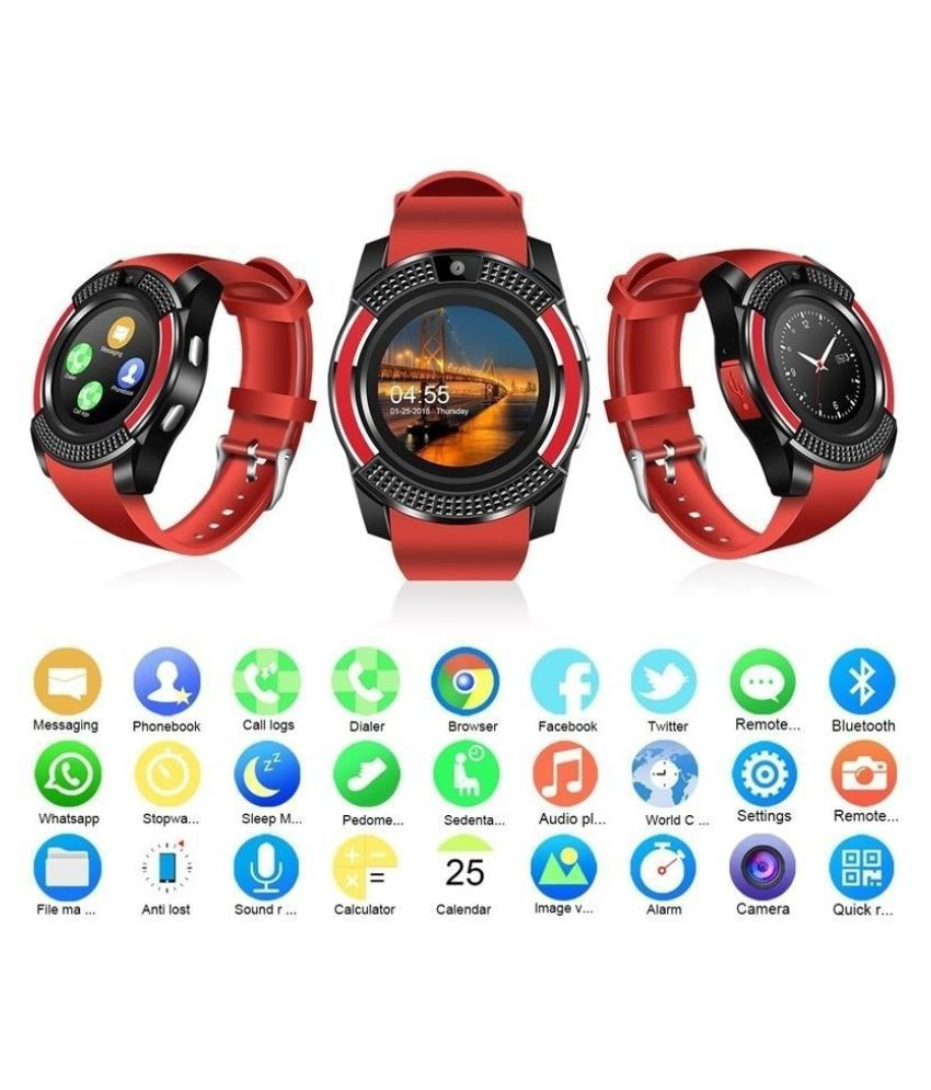 ZXG V8 Wireless Smart Watch Bluetooth Reminder Mo Wearable Smart Devices